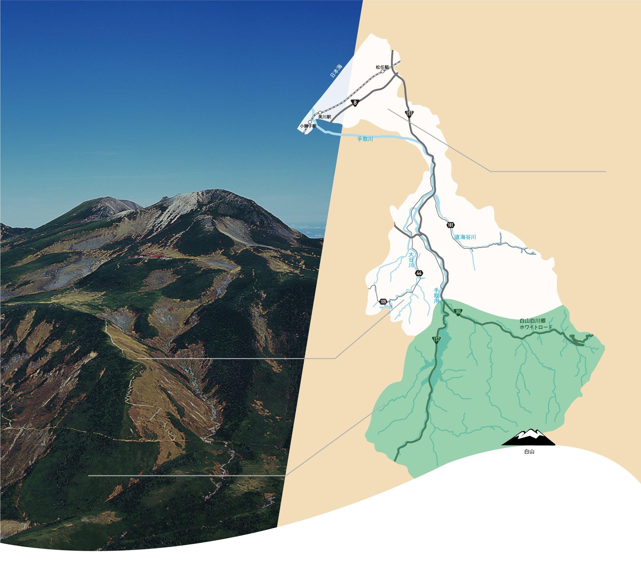 山のイメージ